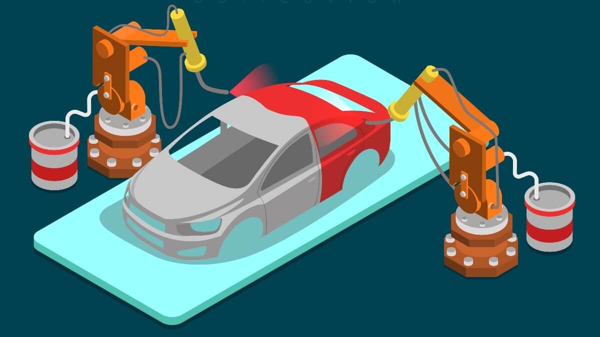 自動車生産工程