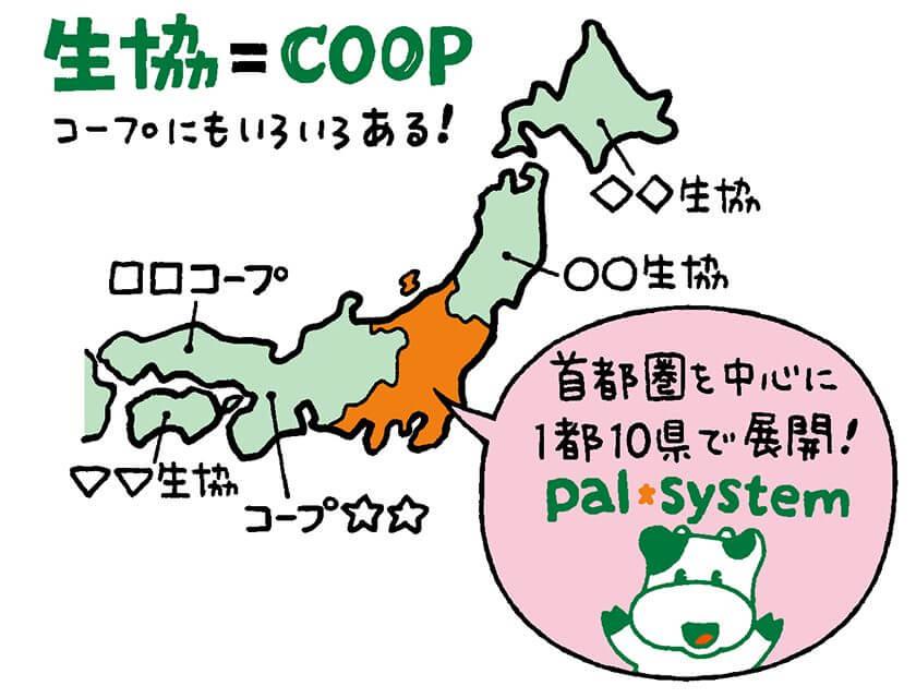COOP地域