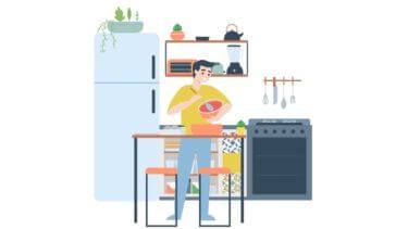家事と育児に疲れた→パパに料理をしてもらおう【コツあり】
